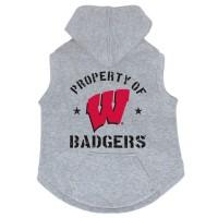 Wisconsin Badgers Pet Hoodie Sweatshirt
