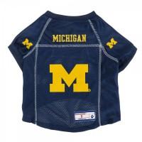 Michigan Wolverines Pet Mesh Jersey