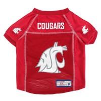 Washington State Cougars Mesh Pet Jersey