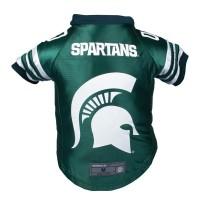Michigan State Spartans Pet Premium Jersey