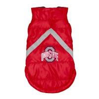 Ohio State Buckeyes Pet Puffer Vest