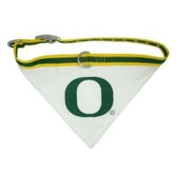 Oregon Ducks Dog Collar Bandana
