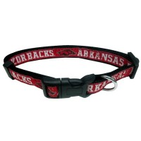 Arkansas Razorbacks Pet Collar By Pets First