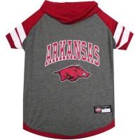 Arkansas Razorbacks Pet Hoodie T-Shirt