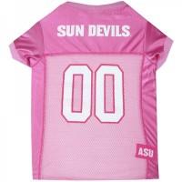 Arizona State Sun Devils Pink Pet Jersey