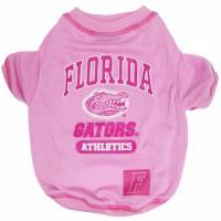 Florida Gators Pink Dog Tee Shirt
