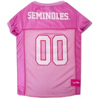 Florida State Seminoles Pink Pet Jersey