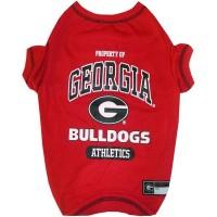 Georgia Bulldogs Pet Tee Shirt