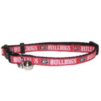 Georgia Bulldogs Breakaway Cat Collar