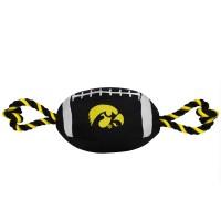 Iowa Hawkeyes Pet Nylon Football
