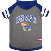 Kansas Jayhawks Pet Hoodie T-Shirt