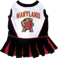 Maryland Terrapins Cheerleader Pet Dress