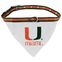 Miami Hurricanes Collar Pet Bandana