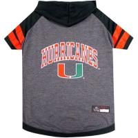 Miami Hurricanes Pet Hoodie T-Shirt