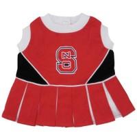 NC State Wolfpack Cheerleader Pet Dress
