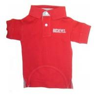 Ohio State Buckeyes Dog Polo Shirt