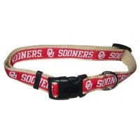 Oklahoma Sooners Pet Collar By Pets First