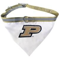 Purdue Boilermakers Pet Collar Bandana