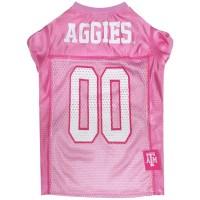 Texas A&M Aggies Pink Pet Jersey