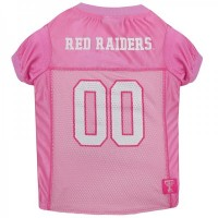 Texas Tech Pink Pet Jersey
