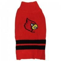 Louisville Cardinals Pet Sweater
