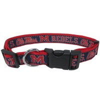 Ole Miss Rebels Pet Collar By Pets First