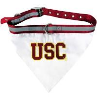 USC Trojans Pet Collar Bandana #2
