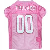 Southern Cal Trojans Pink Pet Jersey