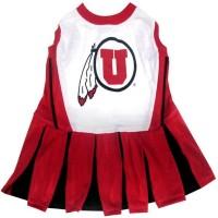Utah Utes Cheerleader Pet Dress