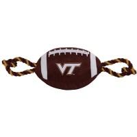 Virginia Tech Hokies Pet Nylon Football