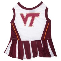 Virginia Tech Hokies Cheerleader Pet Dress