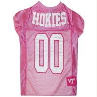 Virginia Tech Hokies Pink Pet Jersey