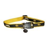 Iowa Hawkeyes Dog Collar Alternate Style