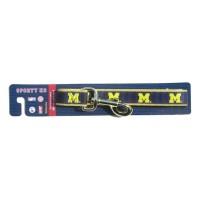 Michigan Wolverines Reflective Dog Leash