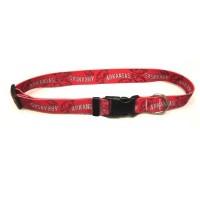 Arkansas Razorbacks Nylon Pet Collar