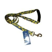 Michigan Wolverines EZ Grip Nylon Pet Leash
