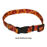 Minnesota Golden Gophers Nylon Pet Collar