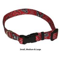 NC State Wolfpack Nylon Pet Collar