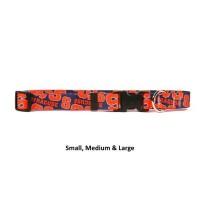 Syracuse Orange Nylon Pet Collar