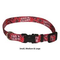 Louisiana Ragin' Cajuns Nylon Pet Collar