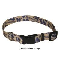 Washington Huskies Nylon Pet Collar