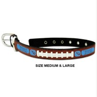 Tennessee Titans Classic Leather Football Pet Collar