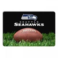 Seattle Seahawks Classic Football Pet Bowl Mat