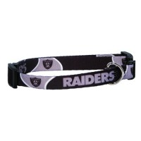 Oakland Raiders Pet Collar