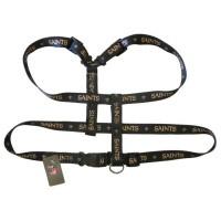 New Orleans Saints Dog Harness