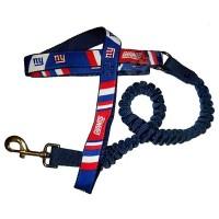 New York Giants Bungee Ribbon Pet Leash