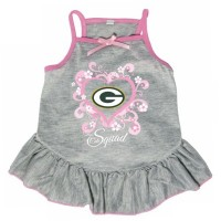 "Green Bay Packers ""Too Cute Squad"" Pet Dress"