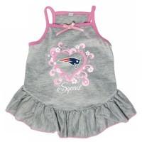 """New England Patriots """"Too Cute Squad"""" Pet Dress"""