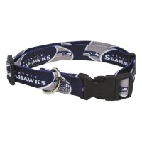 Seattle Seahawks Dog Collar #2