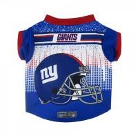New York Giants Pet Performance Tee